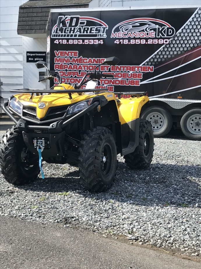 CFMOTO CFORCE 400 HO EPS LX 1 place 2018