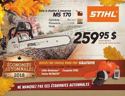 Économies automnales 2019 STIHL