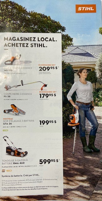 Promotion Printemps Stihl